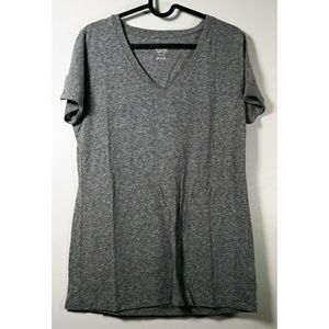 Large gray mossimo v neck